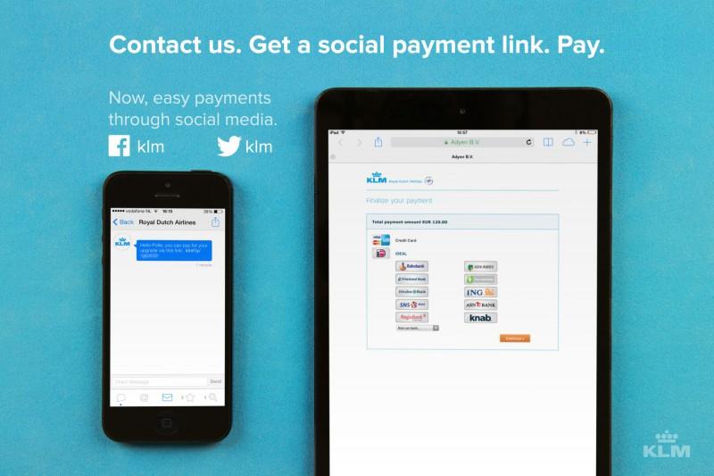 KLM-socialpayment