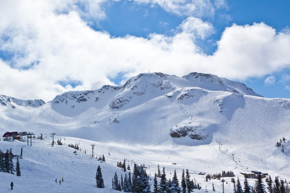 Whistler Blackcomb Skiresort
