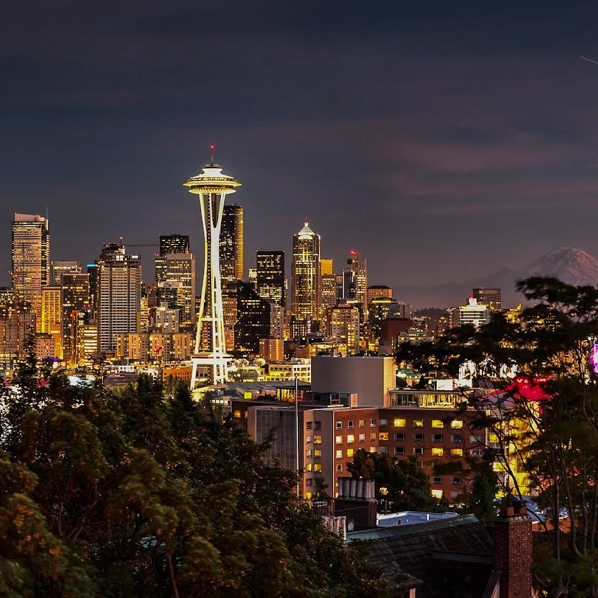 Seattle photo featured on Instagram