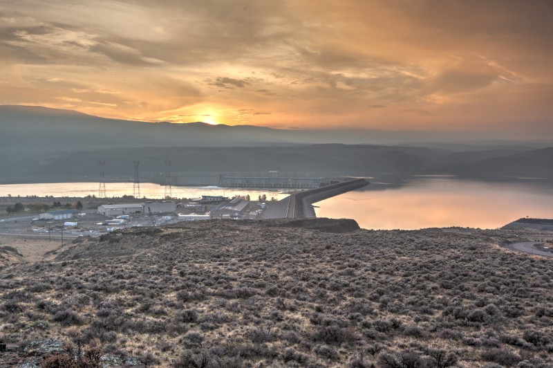 Wanapum Dam Overlook