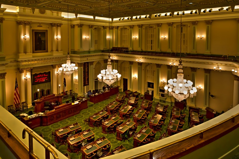 Capitol of California - Assebly Chamber