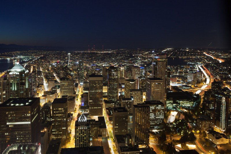 Seattle by Night-3