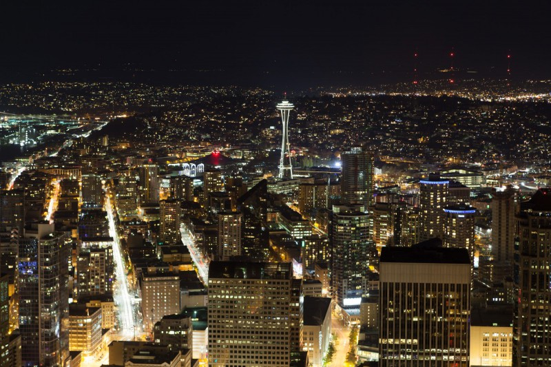 Seattle by Night-5