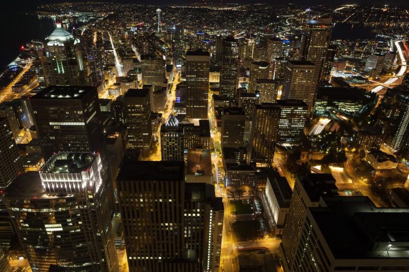 Seattle by Night-6