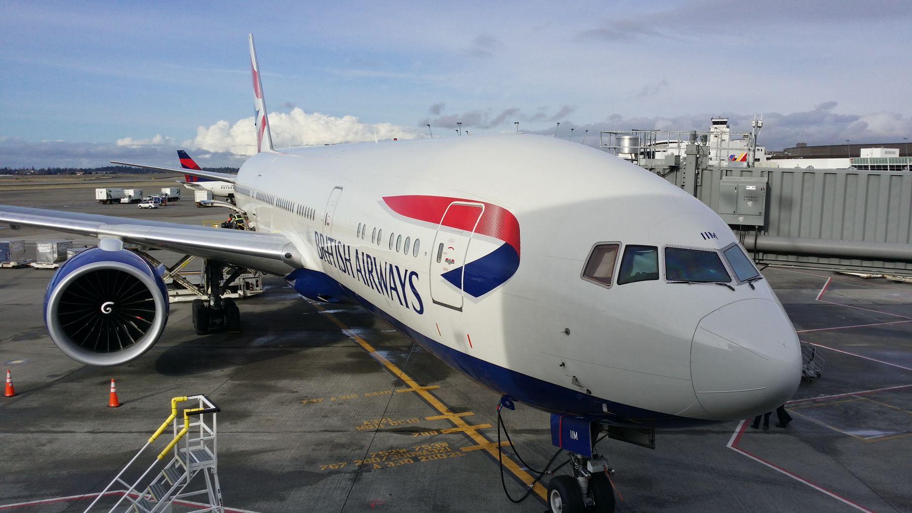 My First Intercontinental Trip with British Airways