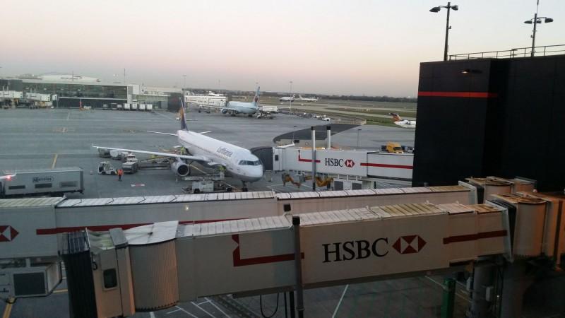 Lufthansa A 321 @ LHR