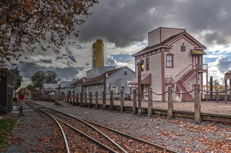 Sacramento Train Depot