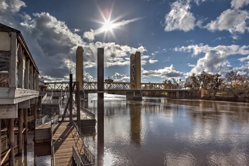 Sacramento Waterfront & Tower Bridge
