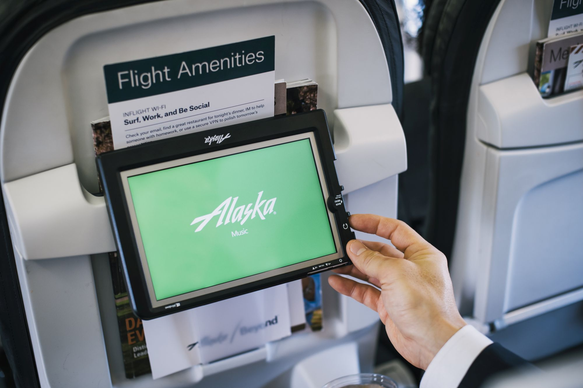 alaska air tablet rental