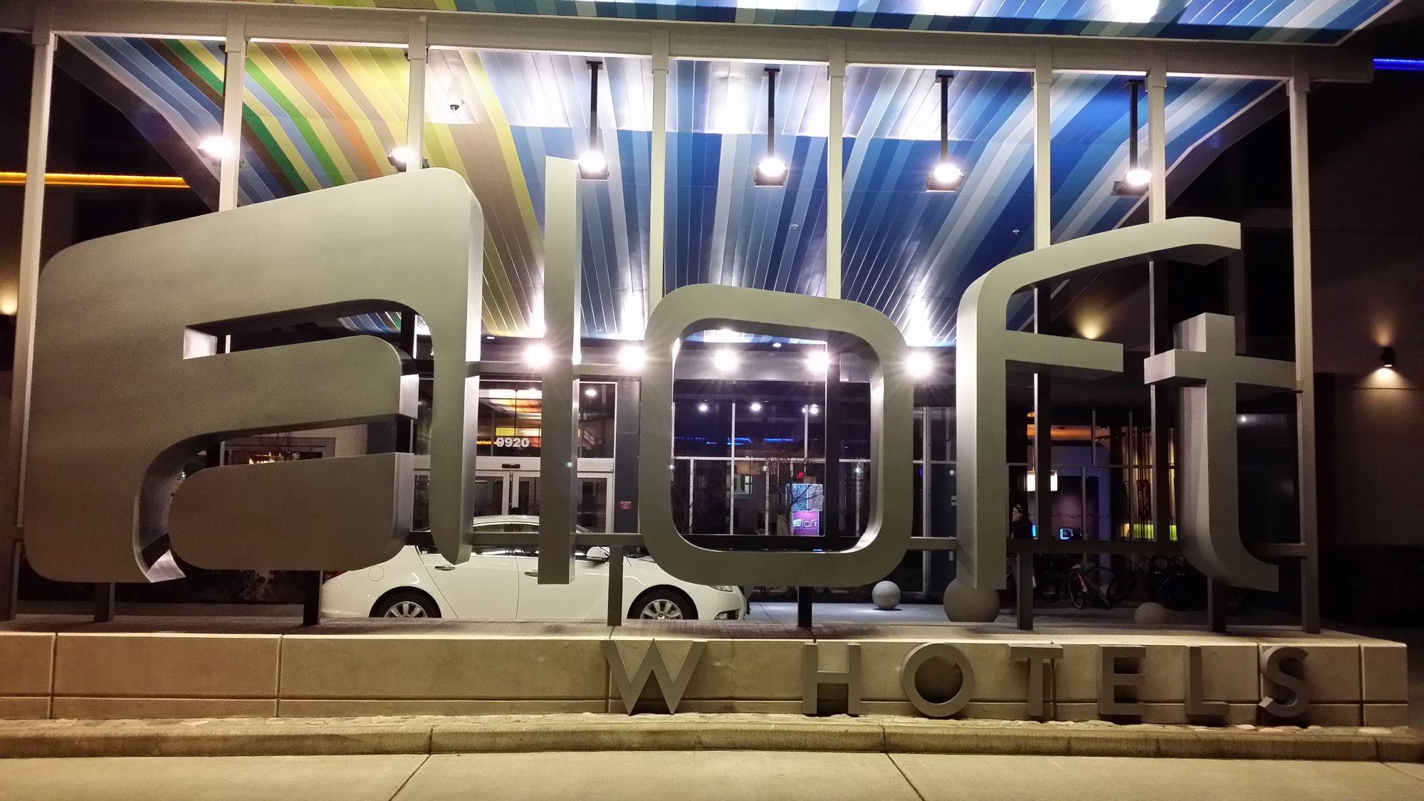 Hotel Review: Aloft Portland Airport at Cascade Station