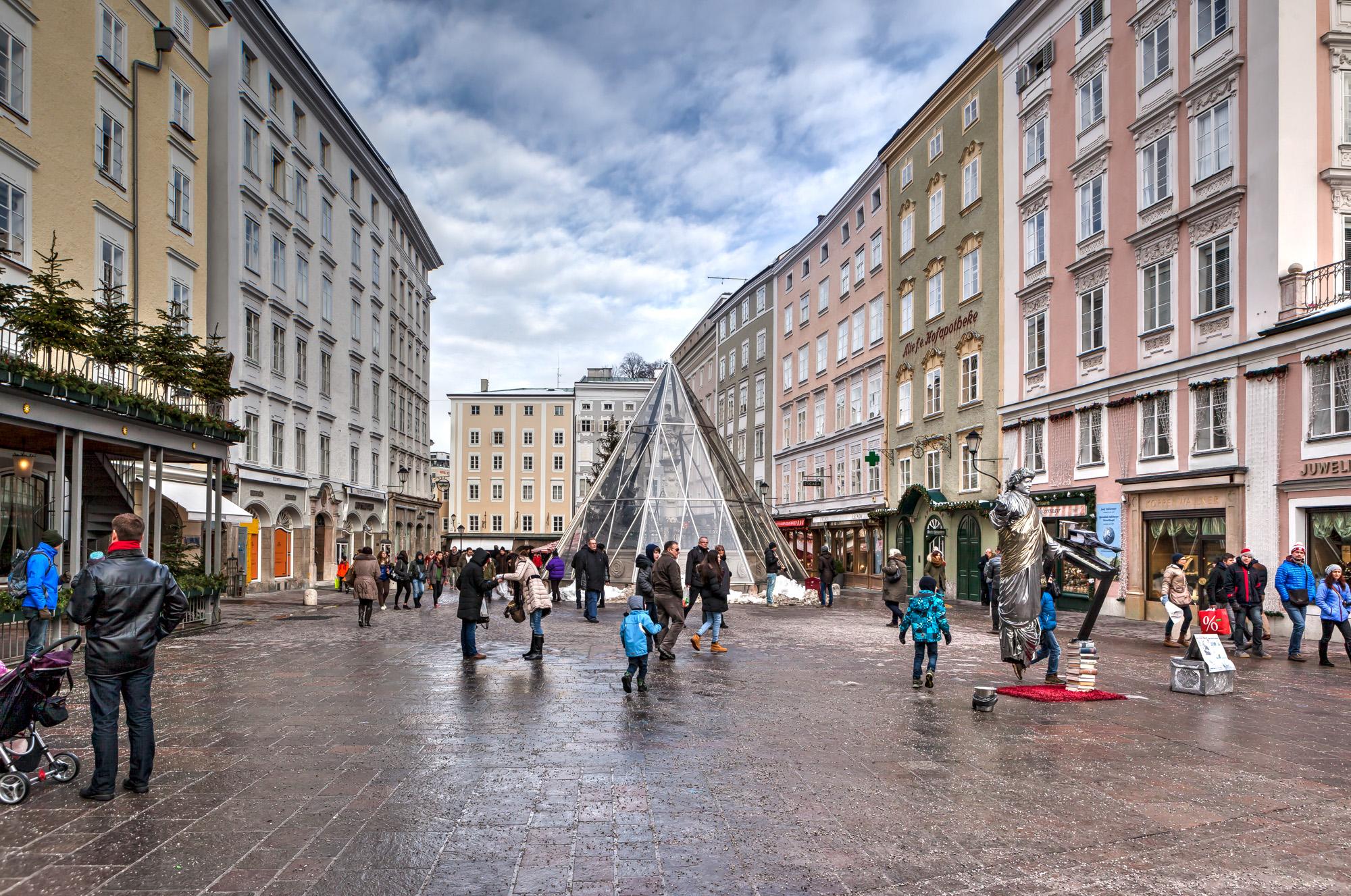 Alter Markt Salzburg - Gate to Adventures