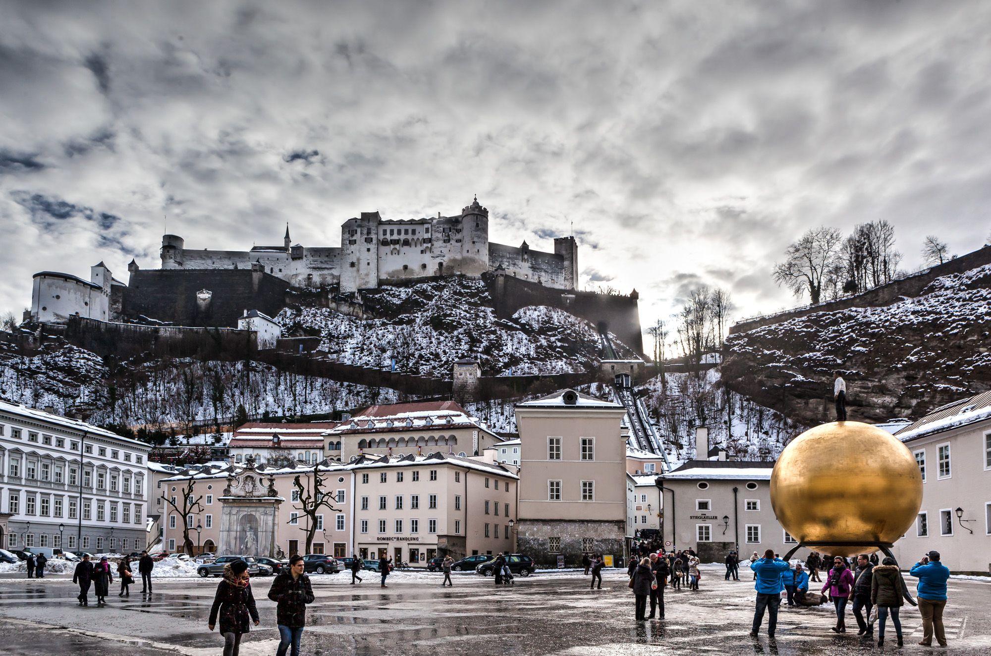 Stopover in Salzburg