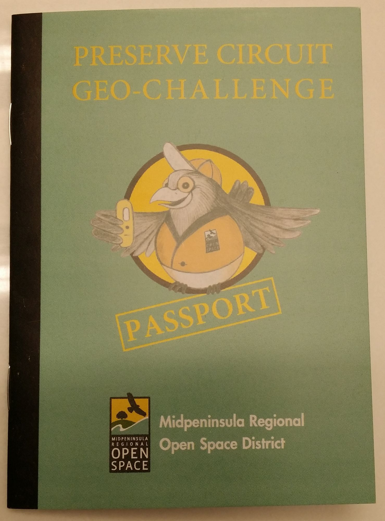 Preserve Circuit Geocache Challenge Passport arrived