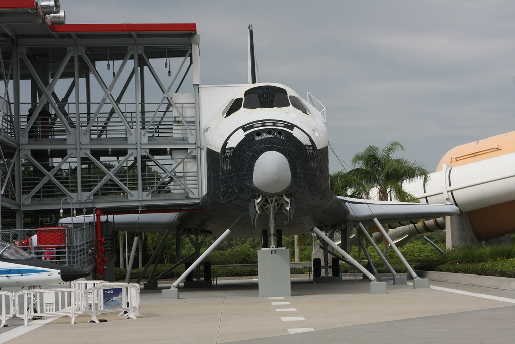 Looking back at my visit at the NASA Kennedy Space Center