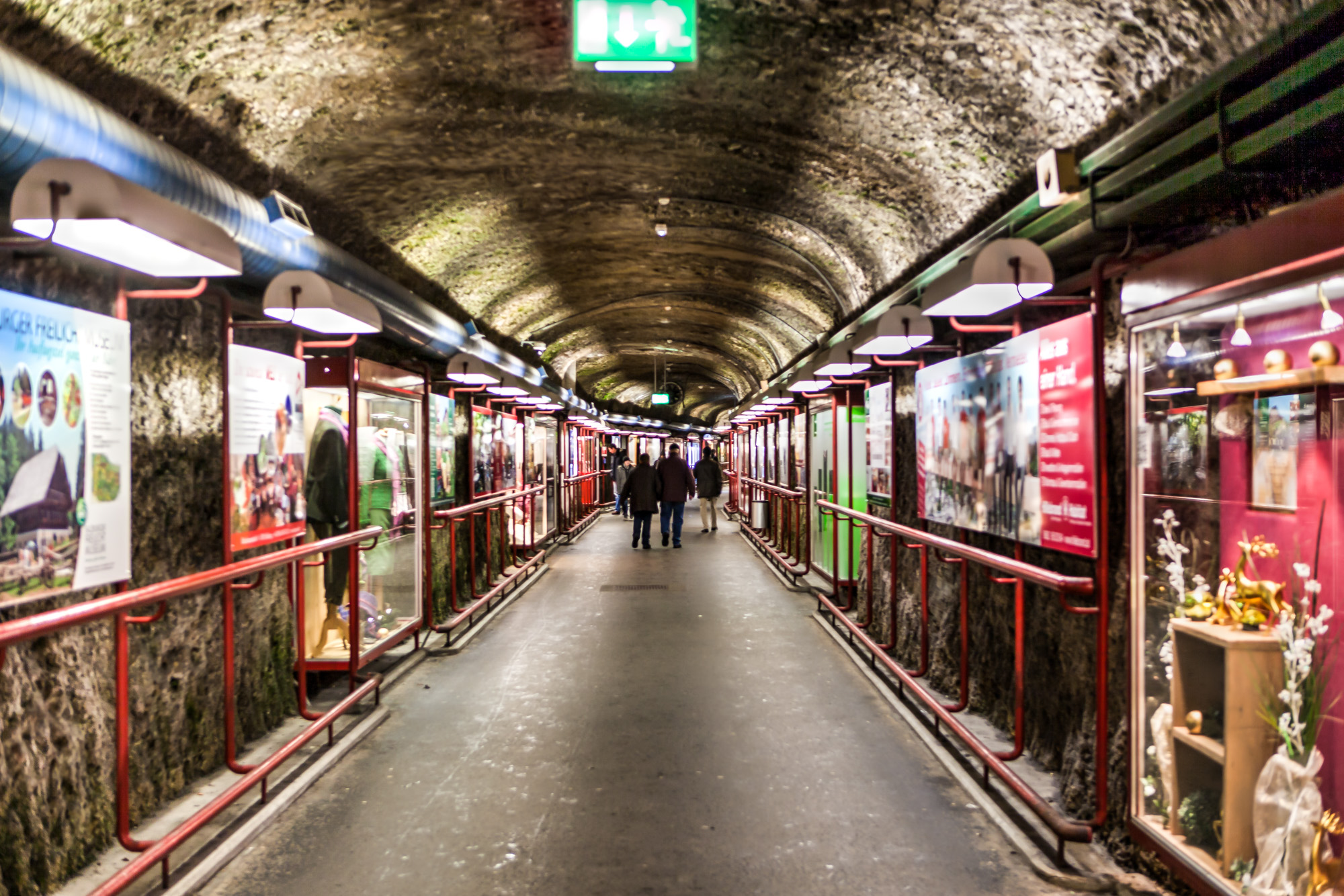 Tunnel Parkplatz Altstadt