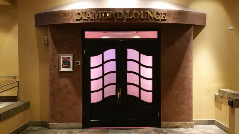 Flamingo Diamond Lounge Entrance