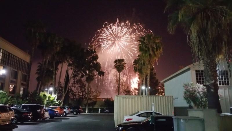 Firework at Disney