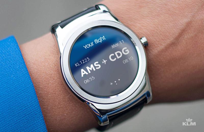 KLM Smartwatch Flightinfo