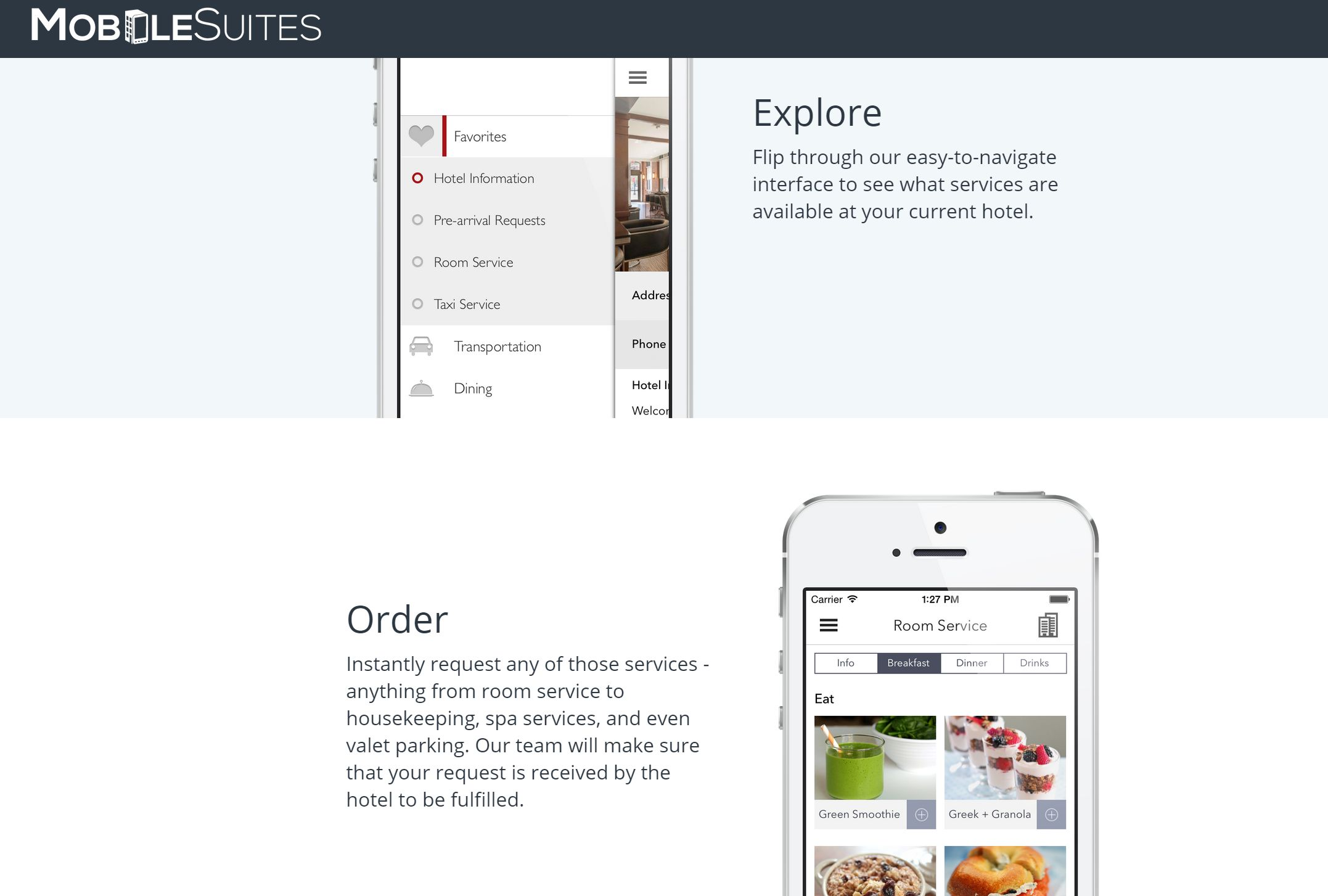 Mobile Suites – A new way of using guest services at hotels + Give Away