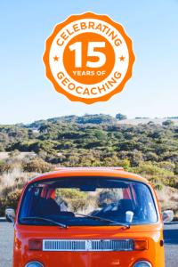 15 years of Geocaching souvenir