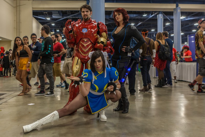 Ironman, Agent Romanoff and Chun Li
