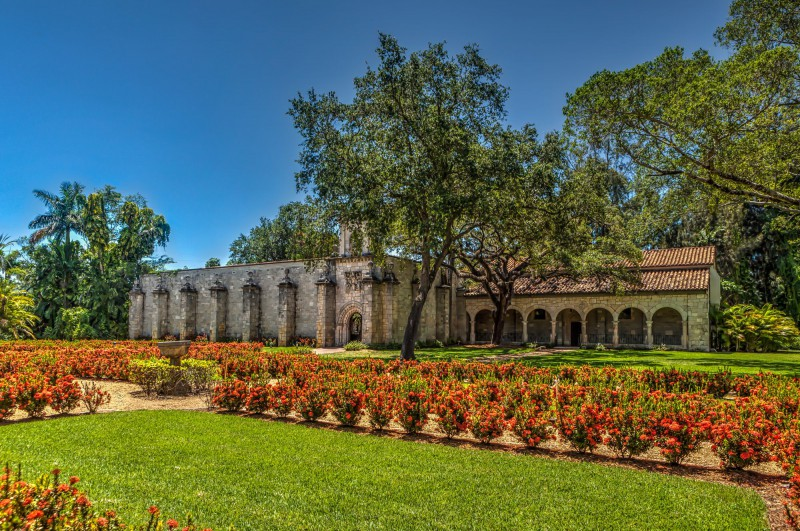 Monastery and Gardens