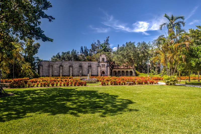 Gardens and Monastery
