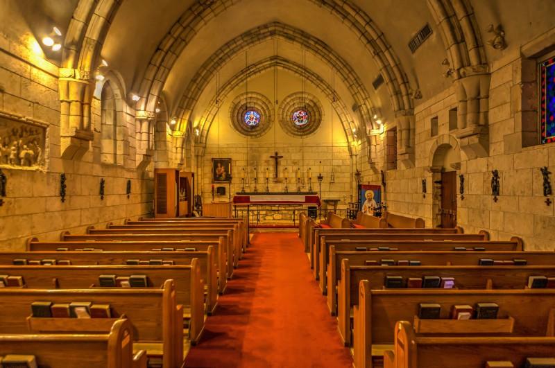 Inside of the chapel
