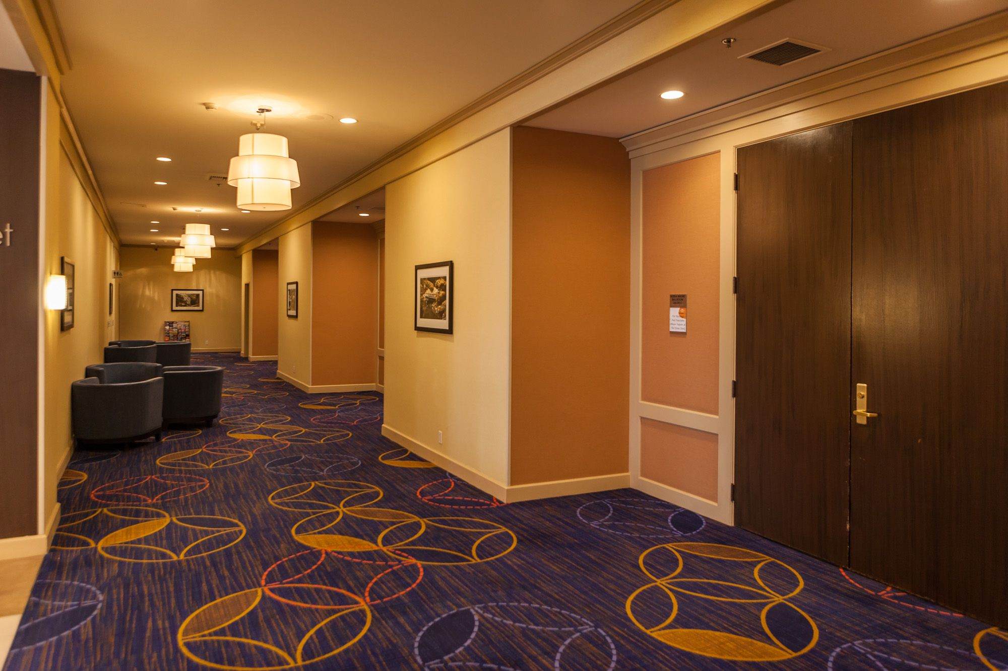 Hallway with Meeting Rooms