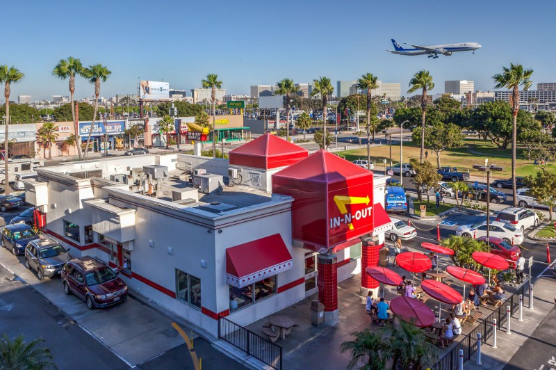 IN-N-OUT Burger at LAX