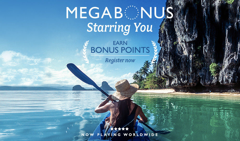 Register for Marriott's Fall 2015 Mega Bonus Promotion