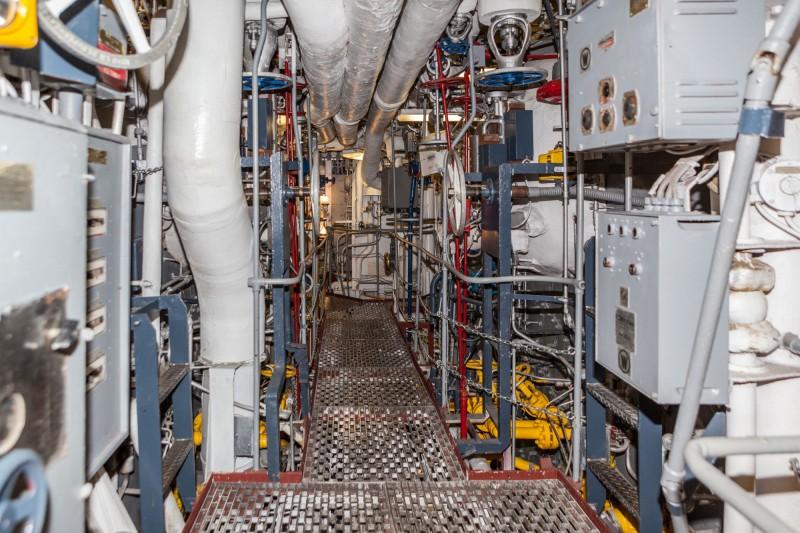 USS Turner Joy DD-951 engine room