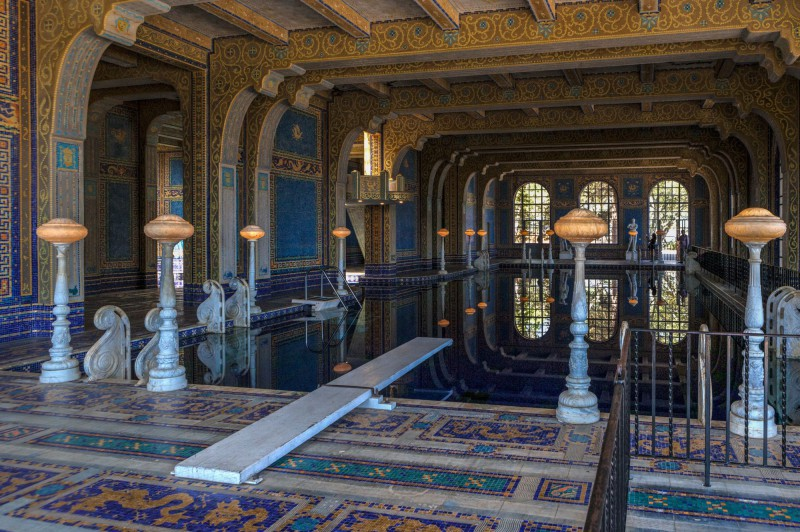 Roman Indoor Pool
