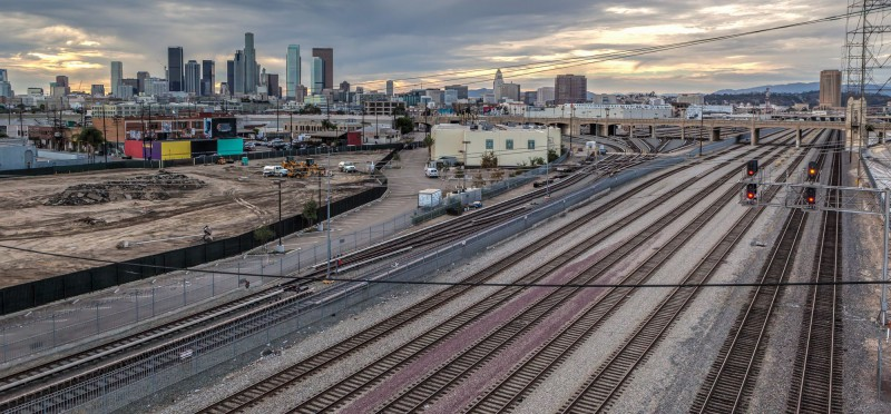 View from the Sixth Street Viaduct