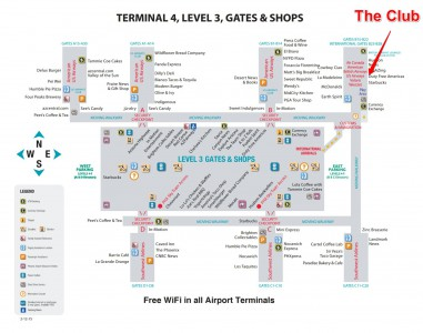 PHX Terminal 4 Map - Gate to Adventures