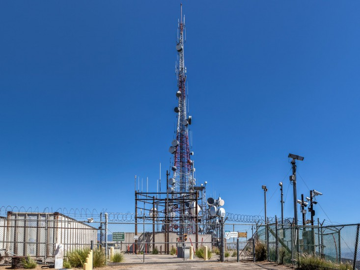 Radio Tower on top of Mount Lee