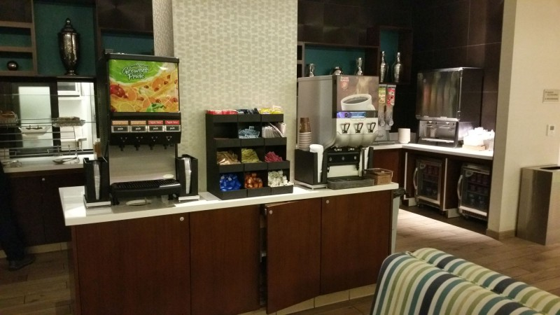 Coffee and Juice dispensers