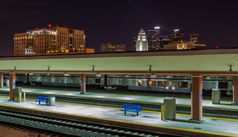 Union Station Train Tracks