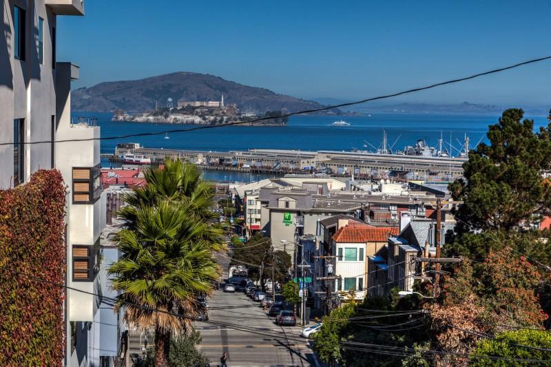 Alcatraz and San Francisco Bay