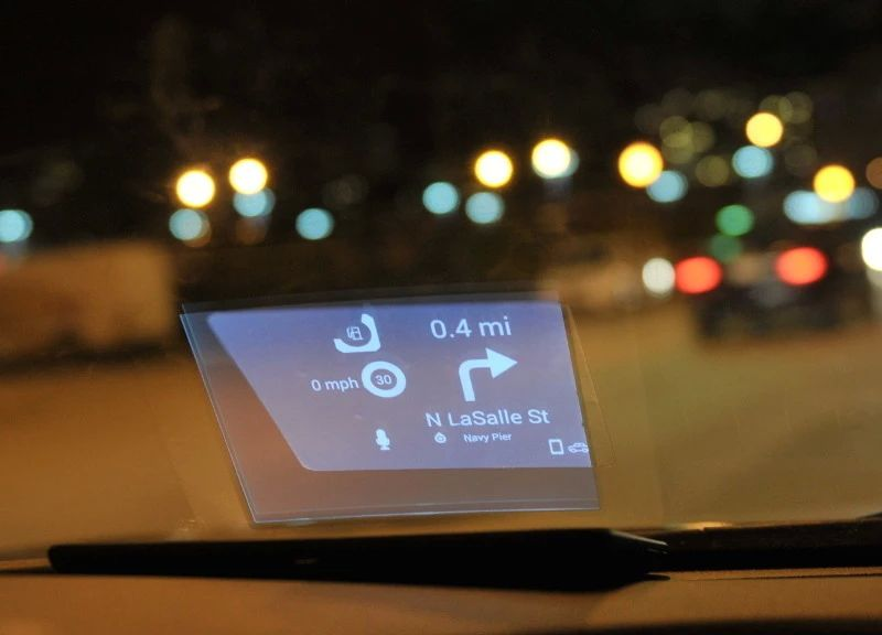 Travel Gadget: Carloudy Head-Up Display