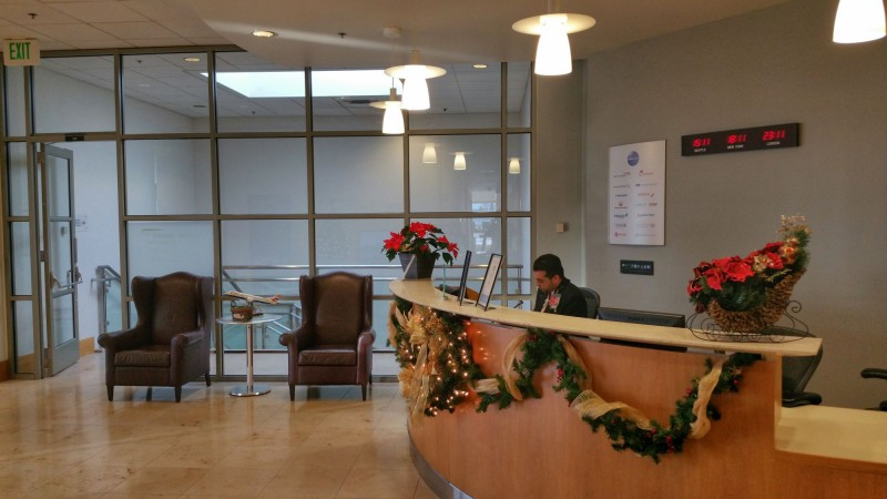 Lounge Check-In Counter