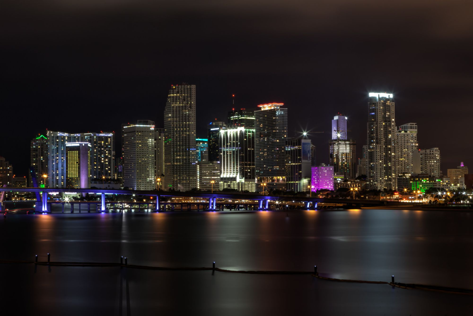 Photo of the Week: Downtown Miami by Night