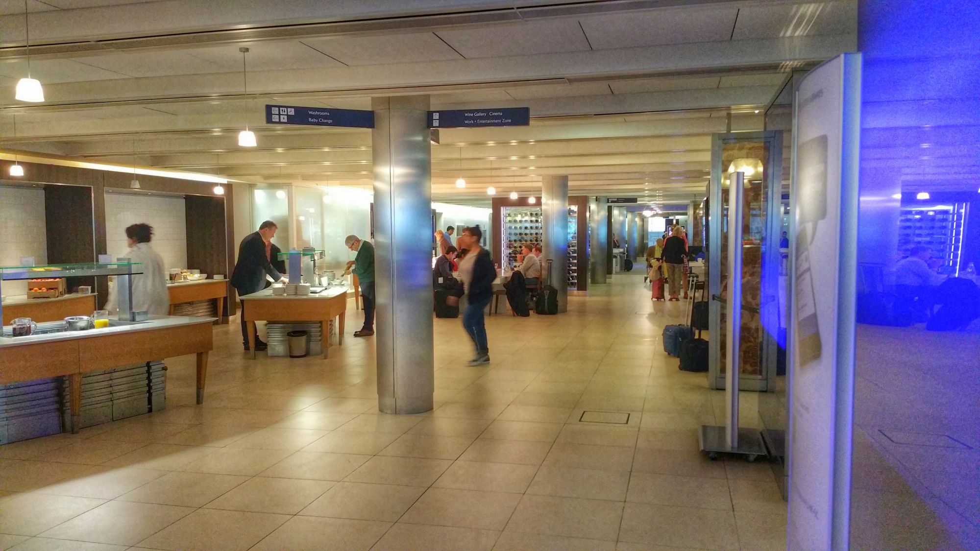 Lounge Review: British Airways Galleries Business Lounge – South – London Heathrow Terminal 5 – LHR