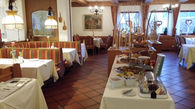 Breakfast Area inside the Restaurant