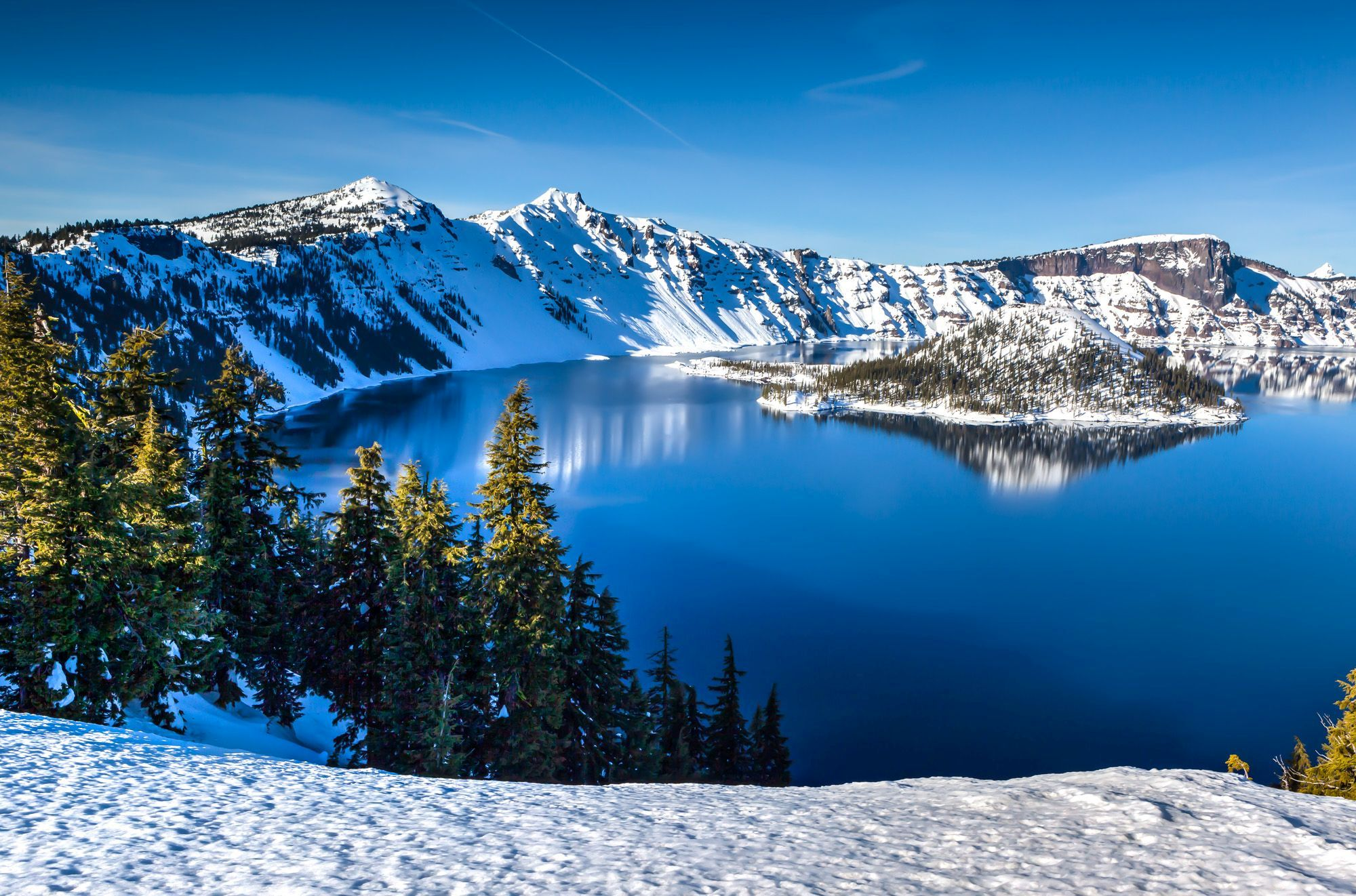 Winter Road Trip to Crater Lake