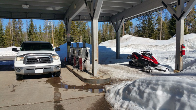 Diamond Lake Gas Station