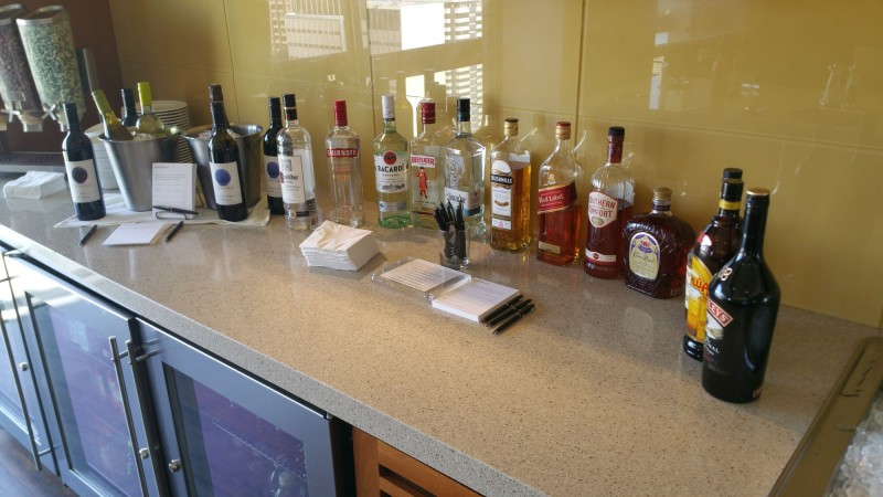 Spirits Selection at the Grand Club