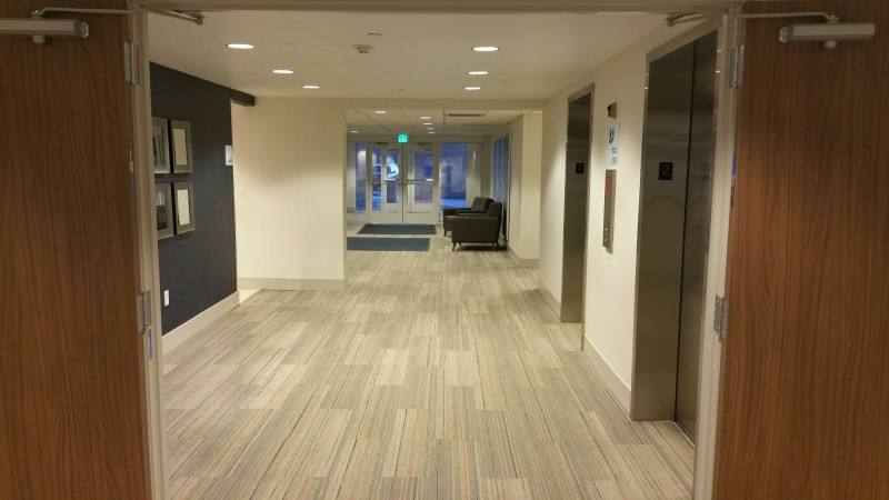 Second Floor with exit to Parking Structure
