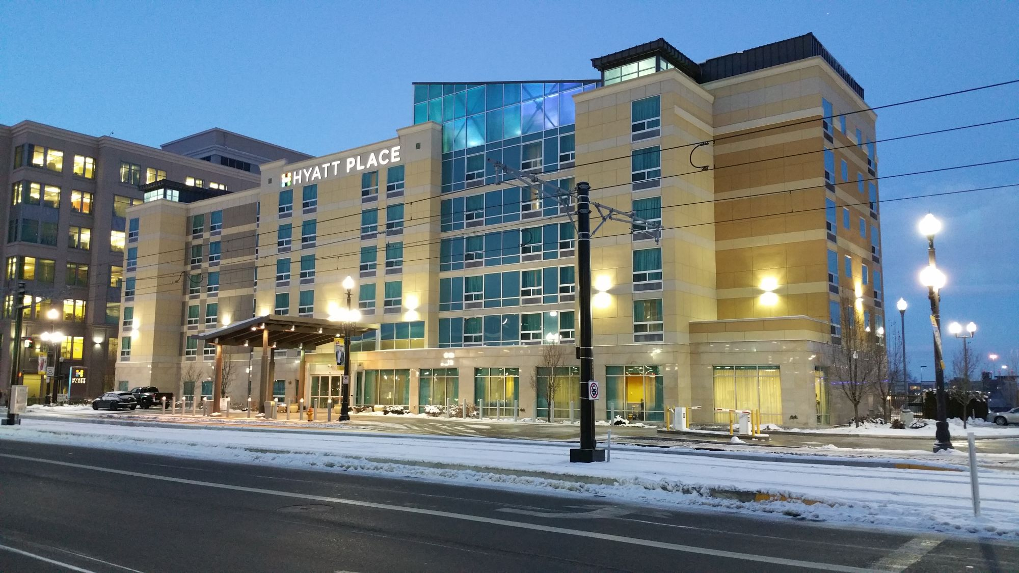 Hotel Review Hyatt Place Salt Lake City Downtown The Gateway Gate To Adventures