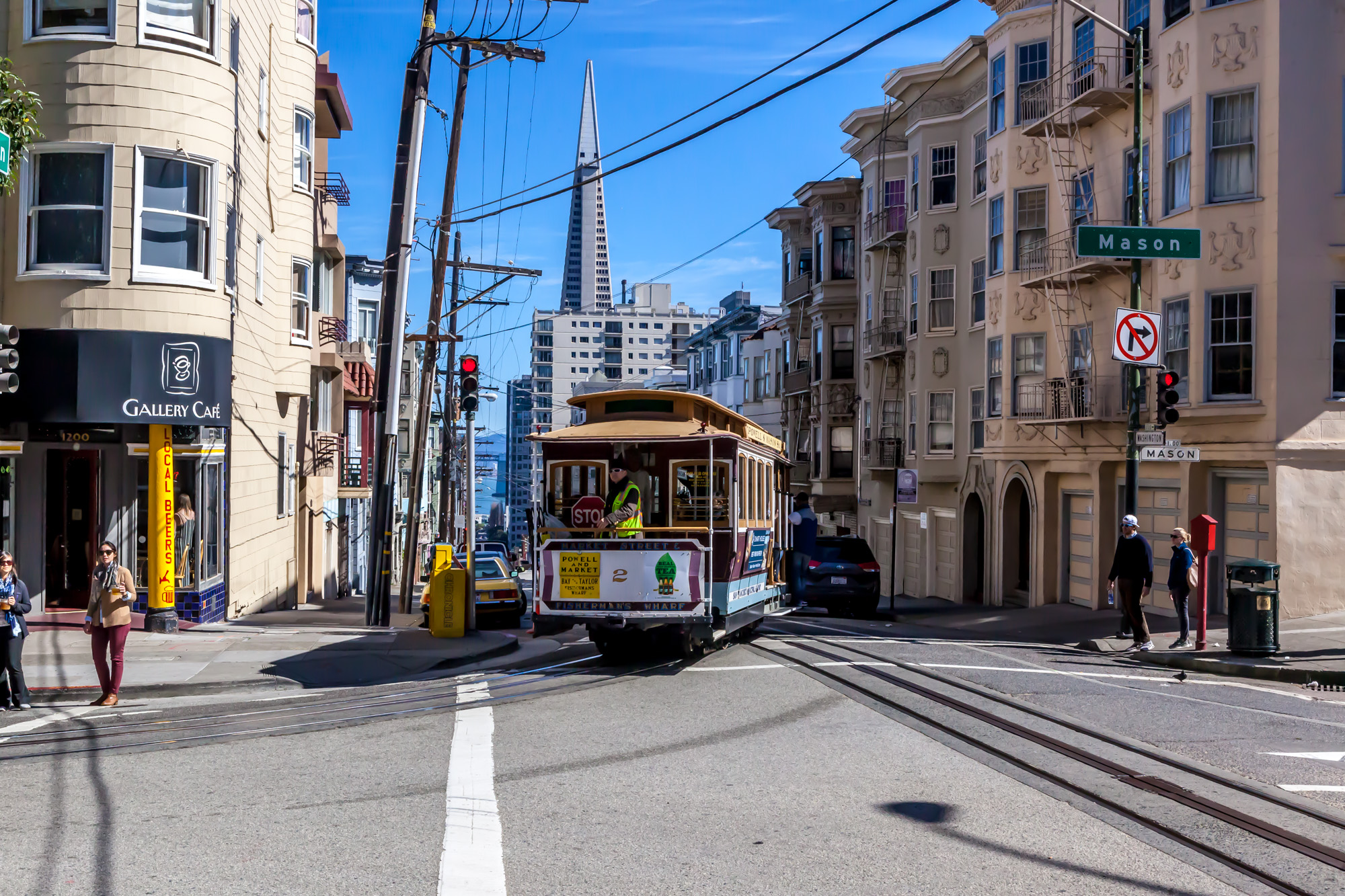 See Who Pulls the Strings behind San Francisco's Cable Cars